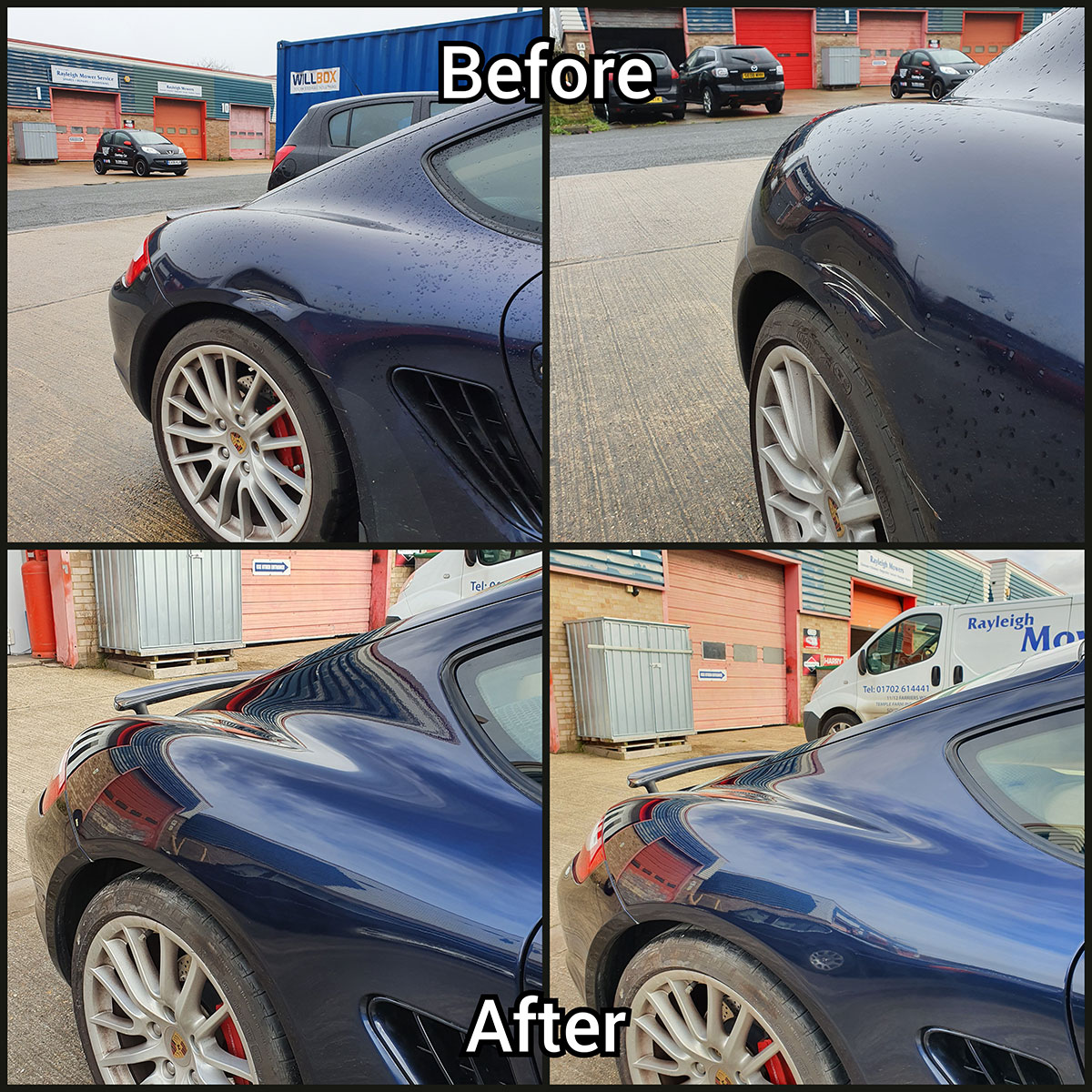 car dent and scratches repaired in benfleet